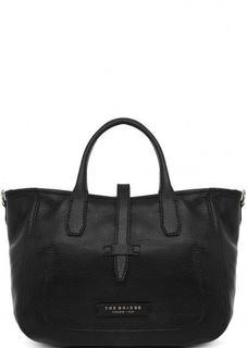 Черная сумка из натуральной кожи THE Bridge