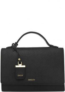 Маленькая черная сумка через плечо Dkny
