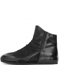 Замшевые черные сапоги A.S.98