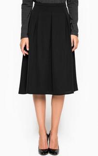 Расклешенная юбка из полиэстера More & More
