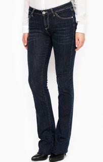 Синие расклешенные джинсы Fornarina