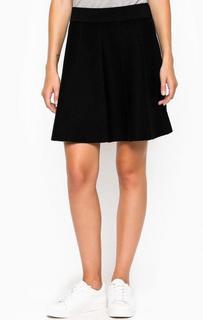 Черная короткая юбка на резинке More & More