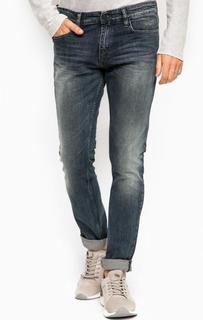 Джинсы скинни с эффектом делаве Calvin Klein Jeans