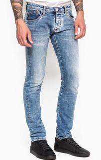 Зауженные джинсы с низкой посадкой Armani Jeans