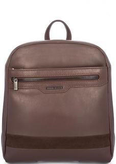 Кожаный рюкзак с тремя отделами Sergio Belotti