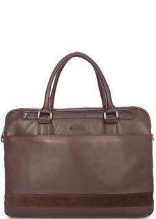 Кожаная сумка с двумя ручками Sergio Belotti