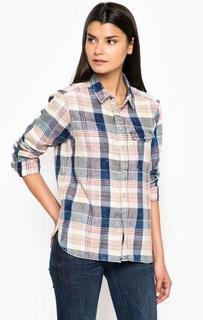 Хлопковая клетчатая рубашка G Star RAW