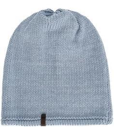 Вязаная шапка из хлопка и полиамида Capo