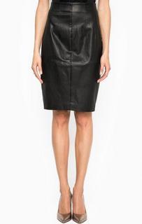Кожаная юбка-карандаш Marciano Guess