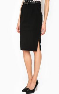 Черная юбка-карандаш с ремнем Marciano Guess