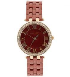 Часы с красным керамическим браслетом Anne Klein
