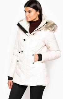 Удлиненная куртка из полиамида со съемным капюшоном G Star RAW
