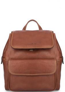 Кожаный рюкзак с одним отделом Gianni Conti