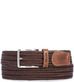 Плетеный кожаный ремень Miguel Bellido