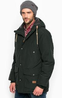 Удлиненная куртка из хлопка с капюшоном Lee