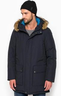 Удлиненная куртка из хлопка Geox