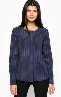 Хлопковая рубашка с длинными рукавами Ichi