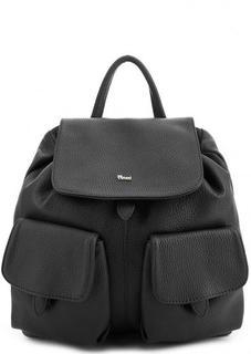 Рюкзак из натуральной кожи с карманами Bruno Rossi