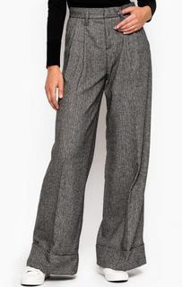 Серые широкие брюки MET