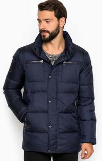 Однотонная куртка из полиэстера Lagerfeld