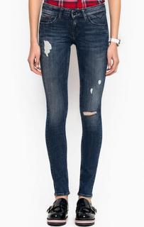 Рваные джинсы скинни с заниженной талией Hilfiger Denim