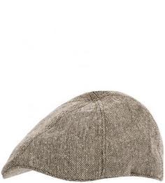 Коричневая кепка из полиэстера и шерсти Goorin Bros.