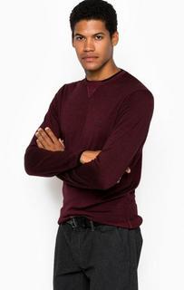 Тонкий шерстяной джемпер Armani Jeans