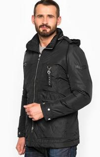 Демисезонная куртка со скрытым капюшоном Diesel