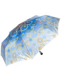 """Синий зонт с системой """"двойной антиветер"""" Doppler"""