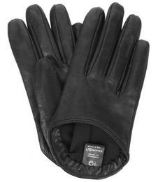 Кожаные короткие перчатки Bartoc