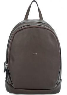 Кожаный рюкзак с двумя отделами Bruno Rossi