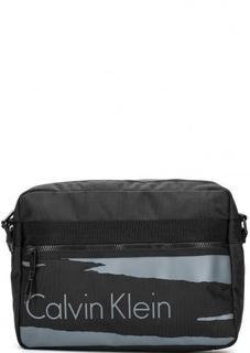 Текстильная сумка с широким плечевым ремнем Calvin Klein Jeans