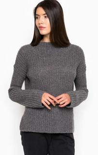 Серый свитер из шерсти и полиамида Pennyblack