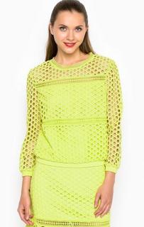 Кружевная блуза с укороченными рукавами Miss Sixty