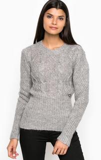 Серый свитер из акрила MET