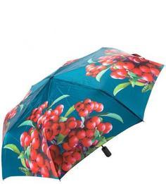 Складной зонт с сатиновым куполом Flioraj