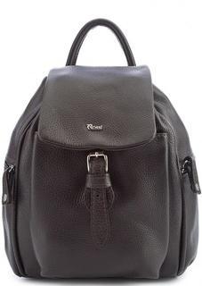 Кожаный рюкзак с тонкими лямками Bruno Rossi