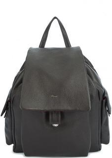 Кожаный вместительный рюкзак Bruno Rossi