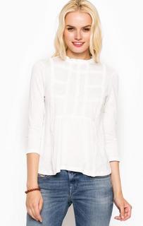 Трикотажная блуза с пуговицами на спинке Tom Tailor Denim