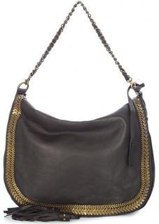 Кожаная сумка с длинной ручкой и плечевым ремнем Tyoulip Sisters