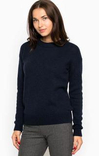 Шерстяной свитер синего цвета River Woods