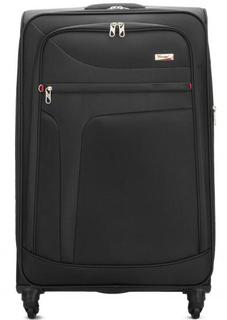 Однотонный чемодан на колесах Verage