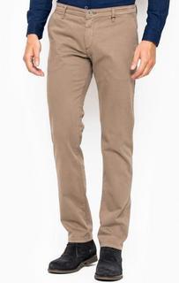 Серые брюки-чиносы из хлопка Liu Jo Uomo