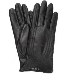 Кожаные перчатки с подкладкой из шерсти и кашемира Eleganzza