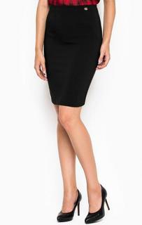 Черная юбка-карандаш MET