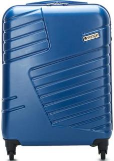 Синий чемодан на колесах Verage