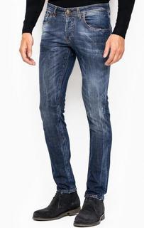 Зауженные джинсы с застежкой на болты Liu Jo Uomo