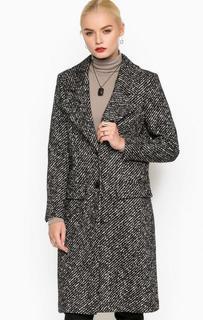 Пальто из шерсти и хлопка на пуговицах Drykorn