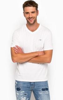 Комплект хлопковых футболок с короткими рукавами Armani Jeans