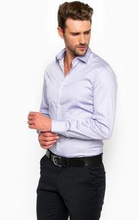 Хлопковая рубашка с длинными рукавами Marciano Guess